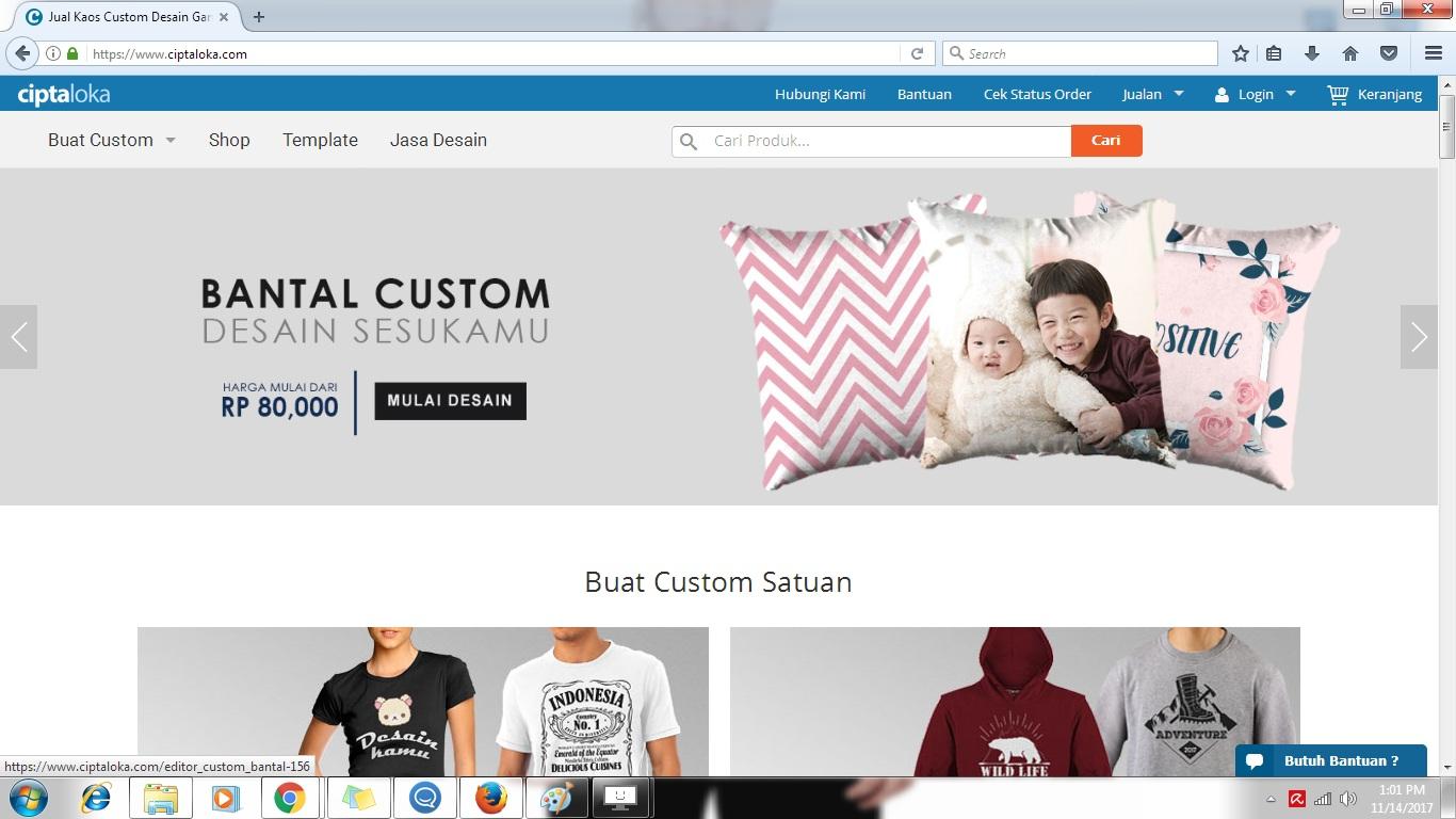 9 Langkah Mudah dalam Membuat Desain Gambar Kaos Online Sendiri di Ciptaloka.com