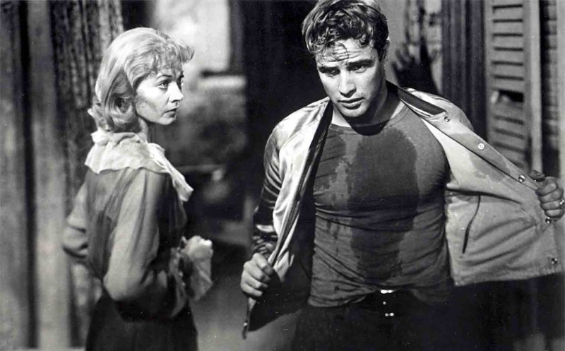 A Sreetcar Named Desire (1951) Directed by Elia Kazan Shown: Vivien Leigh (as Blanche DuBois), Marlon Brando (as Stanley Kowalski)