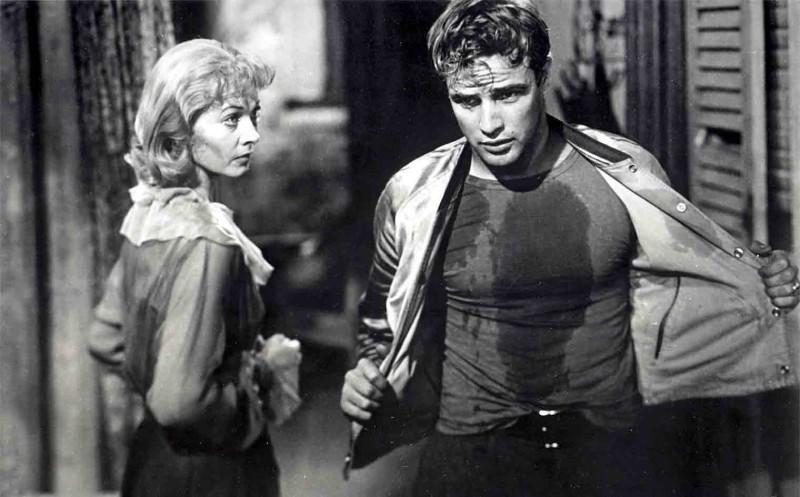 A Sreetcar Named Desire (1951) Directed by Elia Kazan Shown: Vivien Leigh (as Blanche DuBois), Marlon Brando (as Stanley Kowalski)