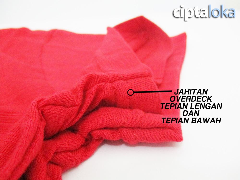 RedMango Cotton Slub Kerah Tepian