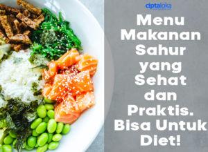 Menu Makanan Diet Sehat Menurunkan Berat Badan Ciptaloka Blog